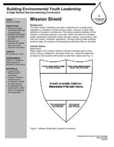 Mission Shield Lesson Plan