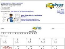 Mixed Addition 2 Worksheet