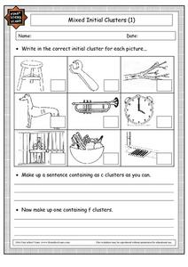 Mixed Initial Clusters (1) Worksheet