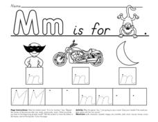 Mm is For... Worksheet