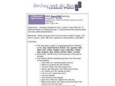 MND  Sound Ball Activity Lesson Plan