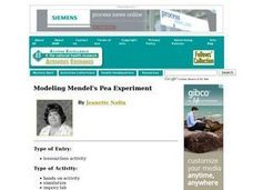 Modeling Mendel's Pea Experiment Lesson Plan