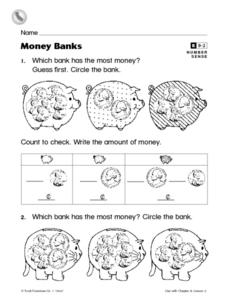 Money Banks Worksheet
