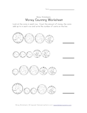 Money Counting Worksheet Worksheet