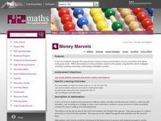 Money Marvels Lesson Plan