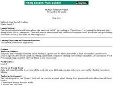 Money Unit Lesson Plan
