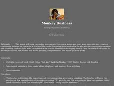 Monkey Business Lesson Plan