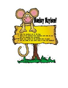 Monkey Mayhem Worksheet