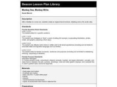 Monkey See, Monkey Write Lesson Plan