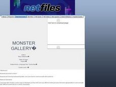 Monster Gallery: E-mail Exchange Lesson Plan