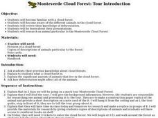 Monteverde Cloud Forest: Tour Introduction Lesson Plan