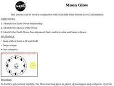 Moon Glow Lesson Plan