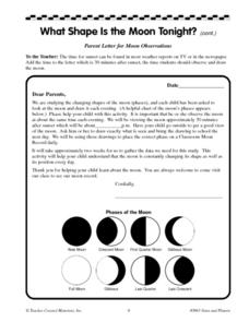 Moon Record Lesson Plan