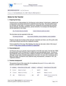 Moonshadow Worksheet
