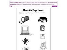 More Go Togethers Worksheet