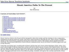 Mosaic America: Paths To The Present Lesson Plan