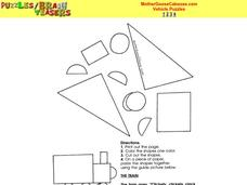 Mother Goose Caboose Worksheet