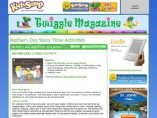 Mother's Day Story Time Activities Lesson Plan