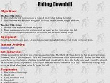 Mountain Biking - Riding Downhill Lesson Plan