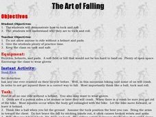 Mountain Biking - The Art of Falling Lesson Plan