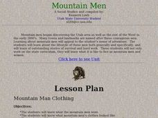 Mountain Man Clothing Lesson Plan