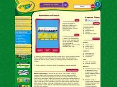 Mountains and Beach Lesson Plan
