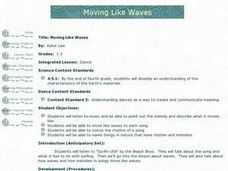 Moving Like Waves Lesson Plan