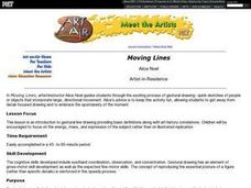 Moving Lines Lesson Plan