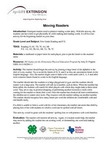 Moving Readers Lesson Plan