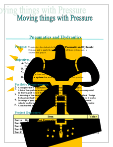 Moving Things with Pressure Lesson Plan