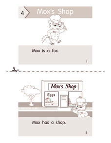 Mox's Shop Worksheet