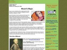 Mozart's Magic Lesson Plan