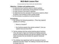 Mud Pies Lesson Plan