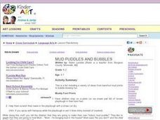 Mud Puddles And Bubbles Lesson Plan