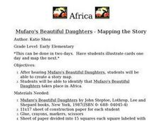 Mufaro's Beautiful Daughters - Mapping the Story Lesson Plan