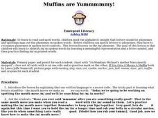 Muffins are Yummmmmy! Lesson Plan