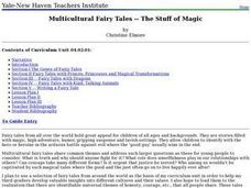 Multicultural Fairy Tales -- The Stuff of Magic Lesson Plan