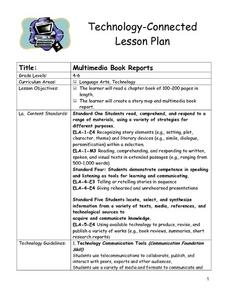 Multimedia Book Reports Lesson Plan