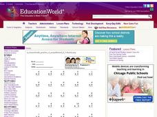 Multiplication By 6 Lesson Plan