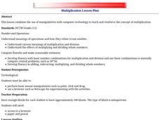 Multiplication Lesson Plan Lesson Plan