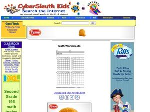 Multiplication: Table Drills Lesson Plan