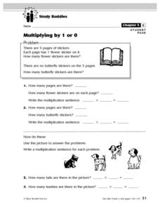 Multiplying By 1 Or 0 Lesson Plan