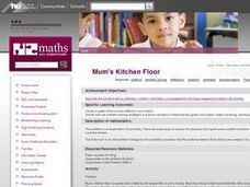 Mum's Kitchen Floor Lesson Plan