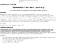 """Mummies--The Great Cover Up"" Lesson Plan"