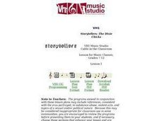 Music Storytellers Lesson Plan