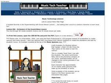 Music Technology: Adding a Voice to a Cartoon Lesson Plan