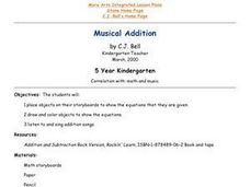 Musical Addition Lesson Plan
