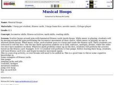 Musical Hoops Lesson Plan