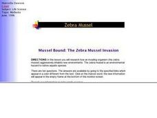 Mussel Bound: The Zebra Mussel Invasion Lesson Plan