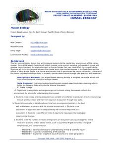 Mussel Ecology Lesson Plan